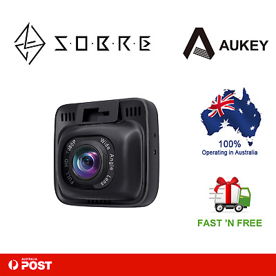 AU107.96 • Buy AUKEY Dashboard Camera Recorder With Full HD 1080P Dash Cam Wide Angle Lens LCD
