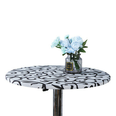 AU9.54 • Buy Round Table Cover Elastic Tablecloth Protector Dining Room Tablecloth For Party