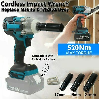 Replace For MAKITA DTW285Z 18V Cordless Brushless Impact Wrench Driver 1/2  • 33.99£