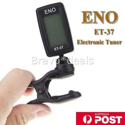 AU9.95 • Buy Clip-on Electronic Digital Guitar Tuner For Chromatic Bass Violin Ukulele NEW