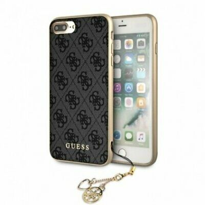 Genuine Guess Charms Hard Case 4G Grey For IPhone SE 2020, IPhone 8 & 7 • 24.95£