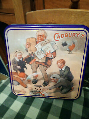 Cadburys Drinking Chocolate Tin Four Different Pictures And A Biscuit Tin • 10£