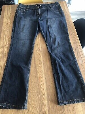 Simply Be Dark Blue / Indigo Bootcut Jeans. Size 24 Extra Long (34 Inch) Leg NEW • 3.20£