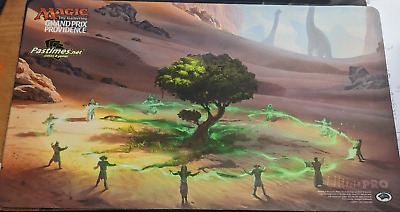£53.50 • Buy MTG Playmat: Grand Prix Providence 2017 Growing Rites Of Itlimoc / Cradle Of ...