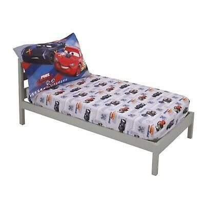 Disney The Cars Lightning McQueen Toddler 2-Piece Bed Sheet Set • 9.92£