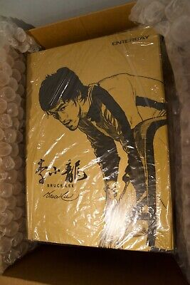 $529.95 • Buy Enterbay Bruce Lee Real Masterpiece 75th Anniversary 1:6 Figure #3198/3500