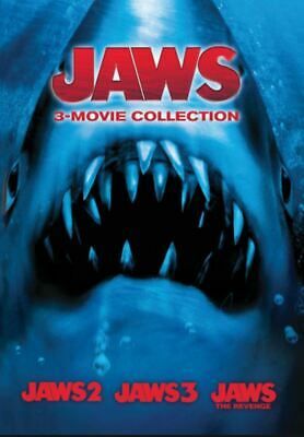 Jaws 2 / Jaws 3 / Jaws The Revenge (CA Google Play) HD Code Compatible With UK • 11.99£