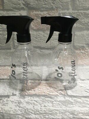 Hinch Spray Bottle X 2. Zoflora And Lenor. Cleaning. Personalised With Name. • 5£