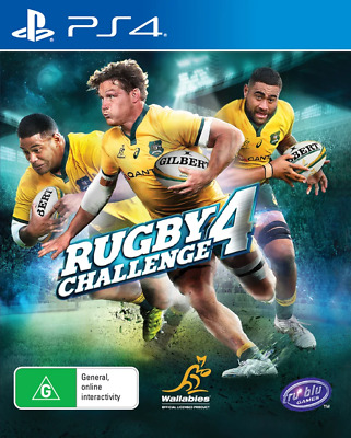 AU91.95 • Buy Rugby Challenge 4 PS4 Game NEW