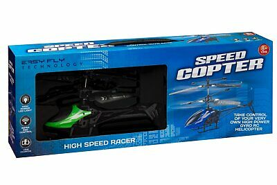 Radio Controlled Gyro Copter Helicopter Remote High Speed Race Flying Childrens  • 19.95£