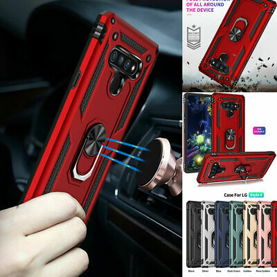 AU12.77 • Buy Shockproof Ring Armour Phone Cases With Tempered Glass For IPhone 7 8 11 Pro Max