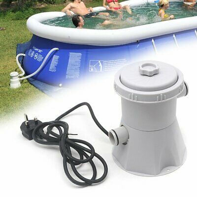 £20.99 • Buy Summer Waves Swimming Pool Filter Pump Above Ground Pool Clean Electric 220-240V