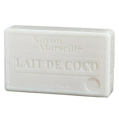 Natural Coco Milk Savon De Marseille Soap 100g  • 3.75£
