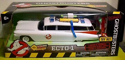 CLASSIC GHOSTBUSTERS ECTO-1 From 1984 MOVIE RADIO CONTROLLED 14 /355mm LONG • 49.99£