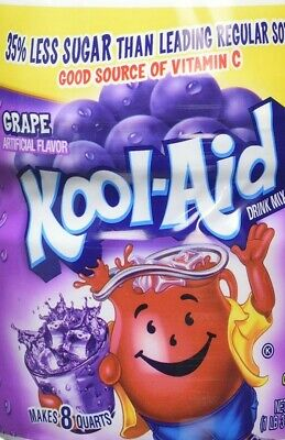 Kool Aid Grape Artificially Flavoured Drink Mix 538g 19oz • 8.49£