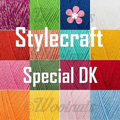 Stylecraft SPECIAL DK Double Knitting Premium Acrylic Crochet Yarn Wool 100g • 1.89£