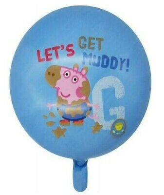 Peppa Pig George 18inch Helium/Air Foil Birthday Party Balloon Decoration • 1.60£