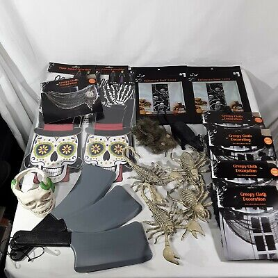$ CDN31.25 • Buy Halloween Party Haunted House Scary Decorations Mixed Lot Of 19