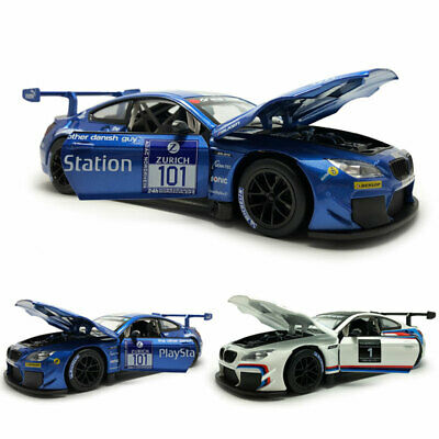 $41.90 • Buy BMW M6 GT3 Racing Car 1:24 Model Car Diecast Vehicle Replica Collection Gift
