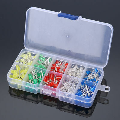 $ CDN4.93 • Buy White Yellow Red Green Blue Assorted Kit DIY 300pcs 3mm 5mm LED Diodes Emitting