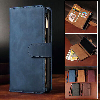 AU17.99 • Buy For IPhone 12 11 Pro Max Mini XS XR 7 8 Plus Wallet Case Leather Card Flip Cover