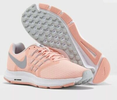 Nike Run Swift Trainers Running Gym Sports Shoes New Size UK 5 Coral / Grey • 40£