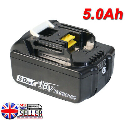 For Makita 18V 5.0AH LXT Lithium Ion Battery Replaces BL1860B BL1830 BL1850 Tool • 20.28£