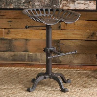 AU184.85 • Buy Vintage Tractor Seat/Bar Stool  Rustic Cast Iron Industrial Style
