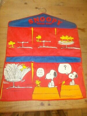Vintage Snoopy Shoe Bag See Pictures • 9.99£