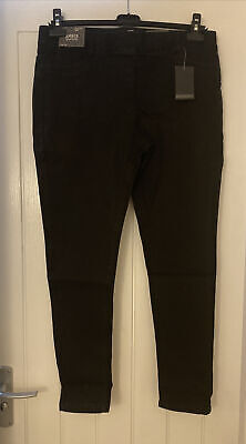 Simply Be Amber Skinny Jeggings, Size 18, New With Tags, Black, • 6.99£
