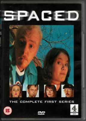 Spaced: The Complete First Series (DVD-2001, 1-Disc) Region 2. Simon Pegg • 5.99£
