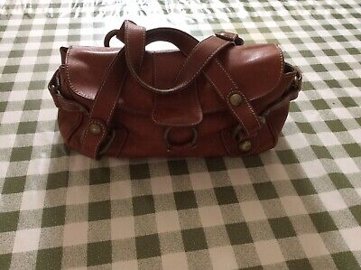 Hobbs Brown Leather Bag. • 19.99£