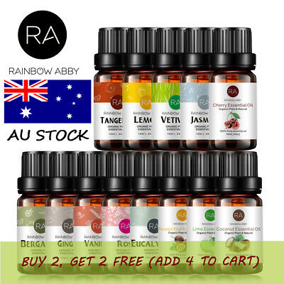 AU10.99 • Buy 10ml 30ml Essential Oils 100% Pure & Natural Therapeutic Grade Fragrance Oil