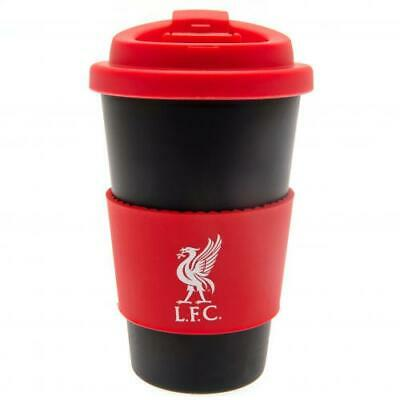 Liverpool F.C. Silicone Grip Travel Mug ( Official Licensed Product ) • 11.06£