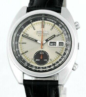 $ CDN559.84 • Buy Vintage SEIKO 6139 6012 Chronograph Day Date Automatic Mens 1977 Wrist Watch