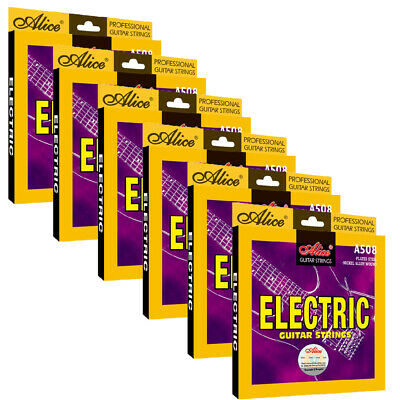 $ CDN29.80 • Buy 6Sets Alice Electric Guitar Strings Nickle Alloy Woung 6 Strings Set A508SL 009