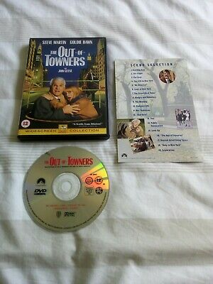 The Out Of Towners Dvd Steve Martin Goldie Hawn John Cleese Region 2 • 4£