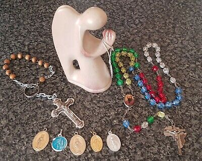 Collection Of Religious Catholic Items  • 9£