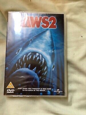 Jaws 2 DVD New • 0.85£