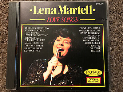 Lena Martell - Love Songs, CD • 4£