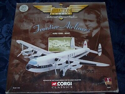 Corgi Aviation Frontier Airliners Avro York BOAC 47202 1:144 1st Issue • 24£
