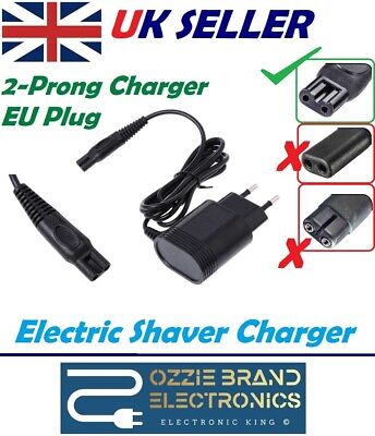 AU11.34 • Buy EU Plug Power Supply Adapter Charger Cord Lead To Fit Philips Shaver SERIES 5000