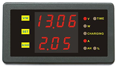 £27.83 • Buy DC 0-90V 0-30A Voltage Current Capacity Power Combo Meter Battery Charge Monitor