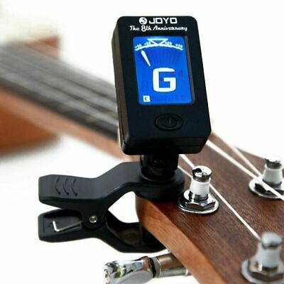 AU14.95 • Buy Clip On LCD Tuner For Electric Acoustic Guitar Bass Violin Ukulele Oud Cello AU