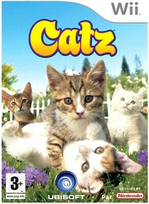 Catz Nintendo Wii Game For Kids PAL UK • 5.95£