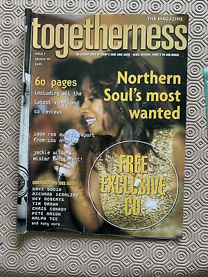 Togetherness Issue 2. March 99. Magazine & 12 Track CD Northern And Modern Soul • 8£