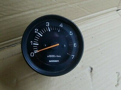 AU114.22 • Buy Mariner Outboard Tachometer RPM Gauge 2 Stroke Yamaha Made Mariners
