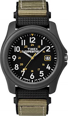 Timex Unisex T42571 Quartz Expedition Camper Watch With Black Dial Analogue And • 34.25£