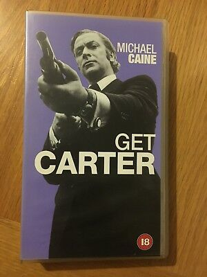 Get Carter VHS Video Retro, Supplied By Gaming Squad  • 0.50£