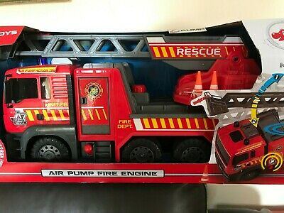 New Boxed Dickie Toy Fire Engine - Pump Action Needs  No Batteries  • 22£
